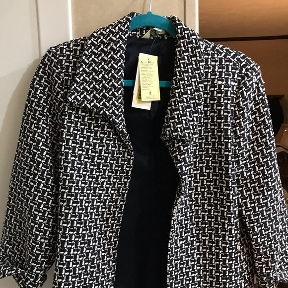 Austin Reed Jackets Coats Austin Reed Blazer Black White With Tag Poshmark